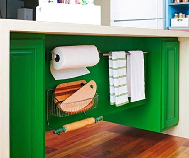 אי צבעוני במטבח