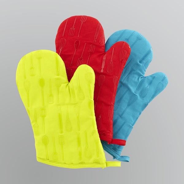 כפפות צבעוניות לתנור